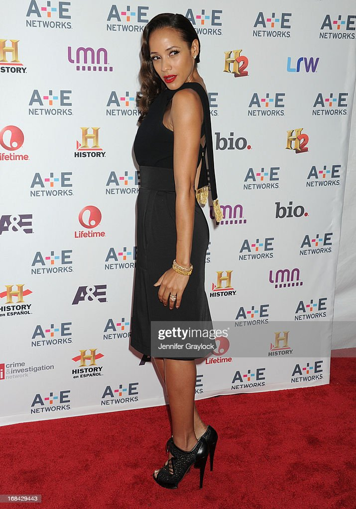 Actress Dania Ramirez attends the A+E Networks 2013 Upfront at Lincoln Center on May 8, 2013 in New York City.