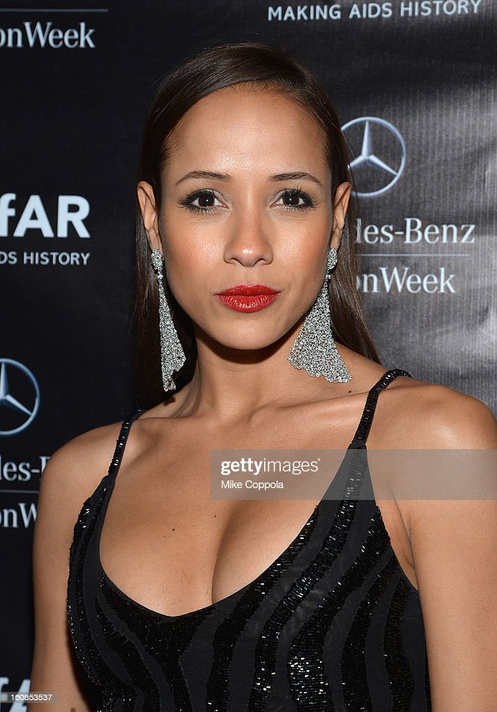 Actress Dania Ramirez attends the amfAR Gala after party in celebration of Mercedes-Benz Fashion Week at SL on February 6, 2013 in New York City.