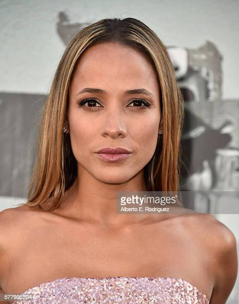 Actress Dania Ramirez attends the premiere of New Line Cinema's 'Lights Out' at the TCL Chinese Theatre on July 19 2016 in Hollywood California