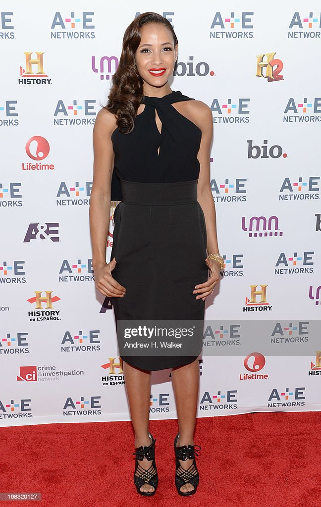 Actress Dania Ramirez of 'Devious Maids' attends the A+E Networks 2013 Upfront on May 8, 2013 in New York City.