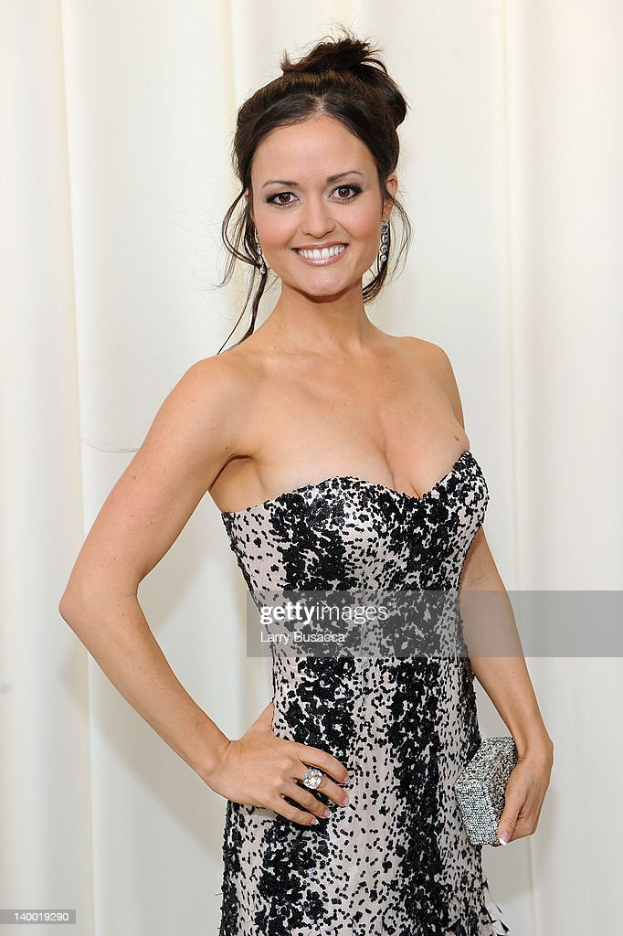 Actress Danica McKellar arrives at the 20th Annual Elton John AIDS Foundation Academy Awards Viewing Party at The City of West Hollywood Park on February 26, 2012 in Beverly Hills, California.