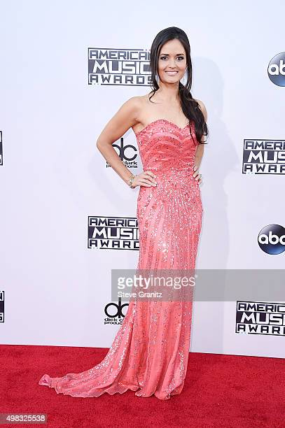 Actress Danica McKellar attends the 2015 American Music Awards at Microsoft Theater on November 22 2015 in Los Angeles California