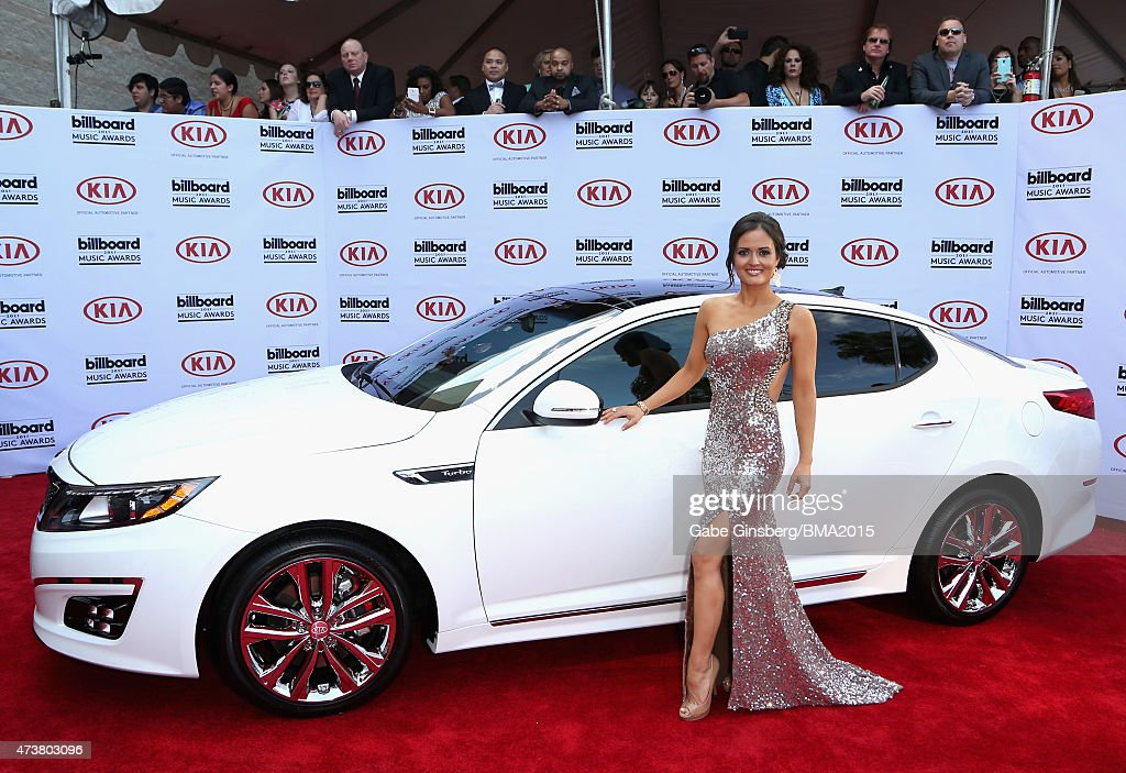 Actress Danica McKellar attends the 2015 Billboard Music Awards with Kia Motors at MGM Grand Garden Arena on May 17 2015 in Las Vegas Nevada