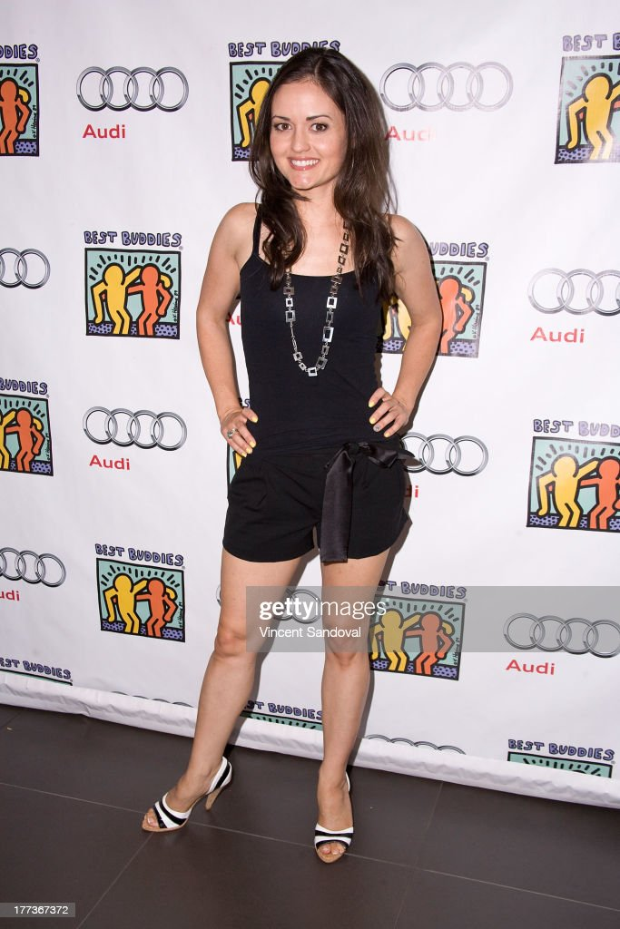 Actress <a gi-track='captionPersonalityLinkClicked' href=/galleries/search?phrase=Danica+McKellar&family=editorial&specificpeople=220769 ng-click='$event.stopPropagation()'>Danica McKellar</a> attends the Best Buddies poker event at Audi Beverly Hills on August 22, 2013 in Beverly Hills, California.