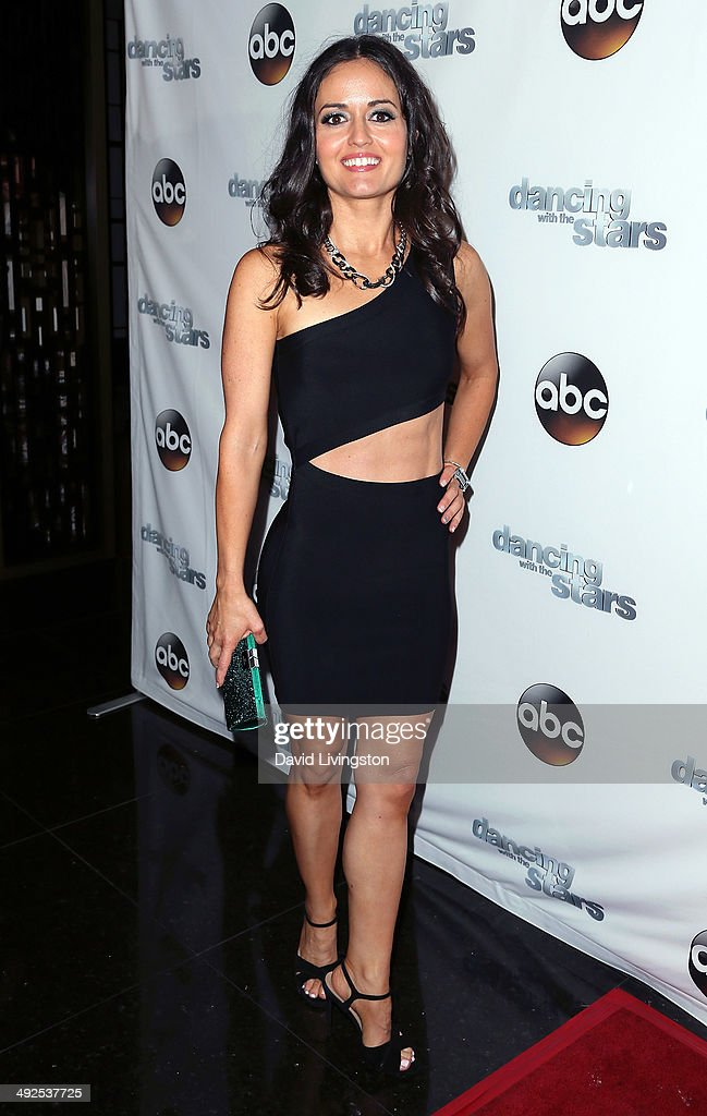 Actress Danica McKellar attends the 'Dancing with the Stars' Season 18 official wrap party at the Sofitel Hotel on May 20 2014 in Los Angeles...