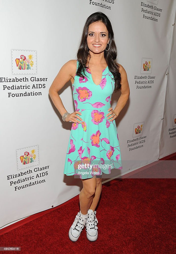 Actress Danica McKellar attends the Elizabeth Glaser Pediatric AIDS Foundation's 26th Annual A Time for Heroes family festival at Smashbox Studios on...
