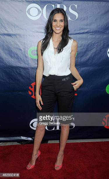 Actress Daniela Ruah arrives at the 2014 Television Critics Association Summer Press Tour CBS CW And Showtime Party at Pacific Design Center on July...