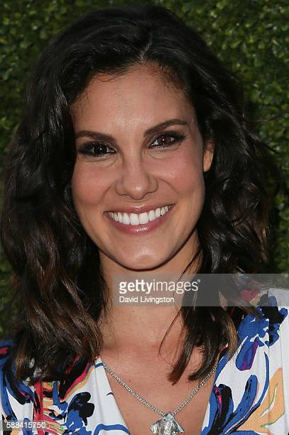 Actress Daniela Ruah arrives at the CBS CW Showtime Summer TCA Party at the Pacific Design Center on August 10 2016 in West Hollywood California