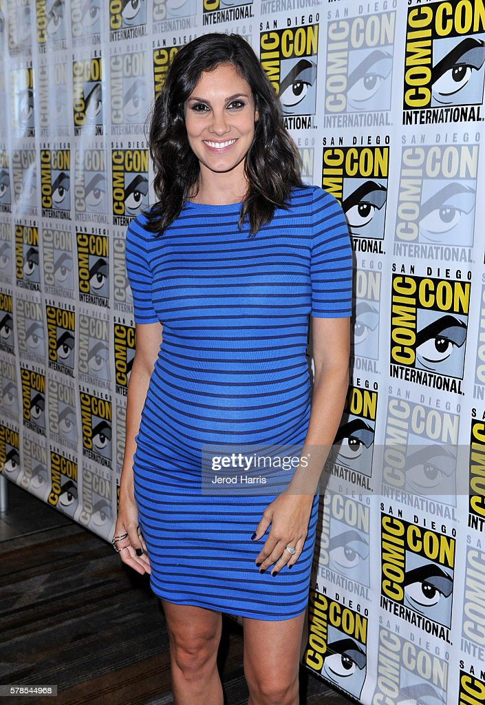 Actress Daniela Ruah attends CBS Fan Favorites Press Line during Comic-Con International 2016 at Hilton Bayfront on July 23, 2016 in San Diego, California.
