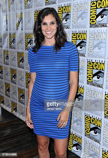 Actress Daniela Ruah attends CBS Fan Favorites Press Line during ComicCon International 2016 at Hilton Bayfront on July 23 2016 in San Diego...