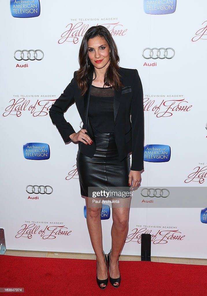 Actress Daniela Ruah attends the Academy Of Television Arts & Sciences 22nd annual Hall Of Fame induction gala at The Beverly Hilton Hotel on March 11, 2013 in Beverly Hills, California.