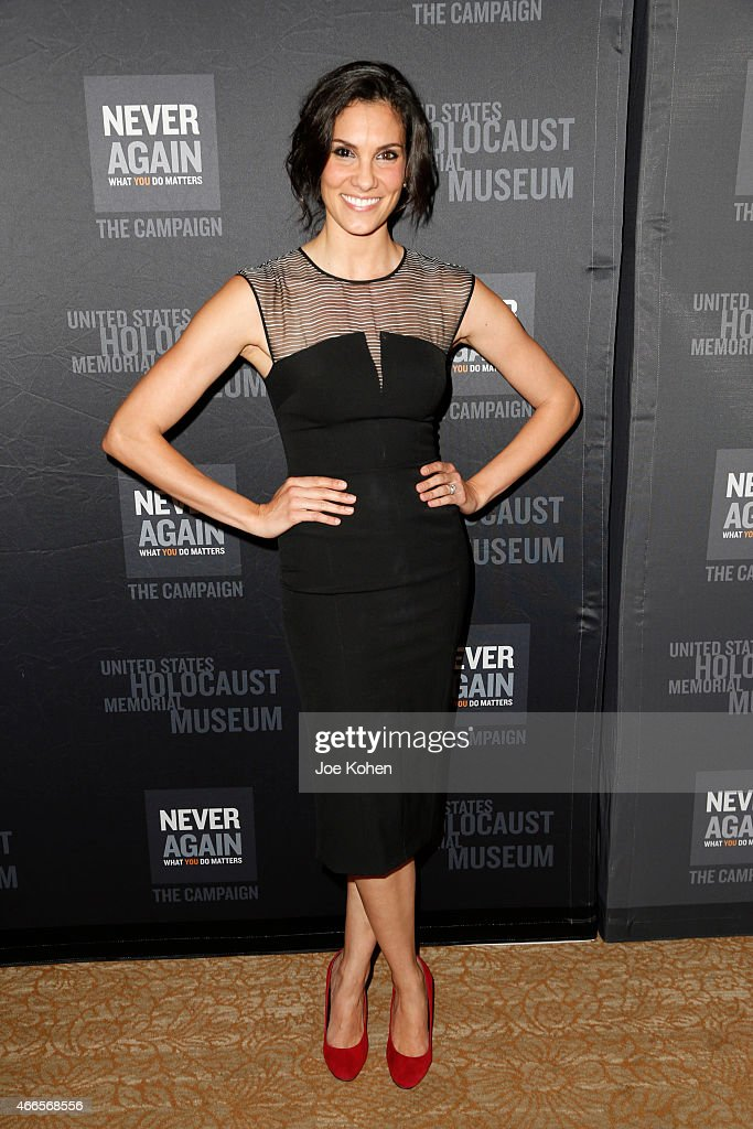 Actress Daniela Ruah attends the United States Holocaust Memorial Museum 2015 Los Angeles Dinner at The Beverly Hilton Hotel on March 16, 2015 in Beverly Hills, California.