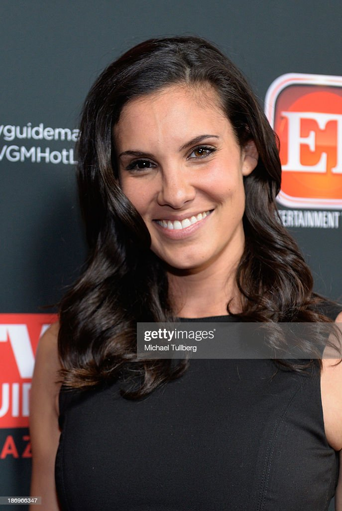 Actress <a gi-track='captionPersonalityLinkClicked' href=/galleries/search?phrase=Daniela+Ruah&family=editorial&specificpeople=5962523 ng-click='$event.stopPropagation()'>Daniela Ruah</a> attends TV Guide Magazine's Annual Hot List Party at The Emerson Theatre on November 4, 2013 in Hollywood, California.