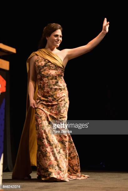 Actress Daniela Vega attends the 'A Fantastic Woman' premiere during the 2017 Toronto International Film Festival at The Elgin on September 12 2017...