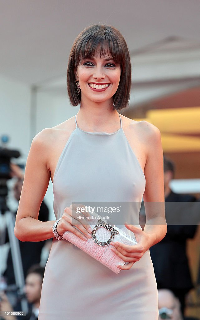 Actress Daniela Virgilio attends the Award Ceremony And 'L'Homme Qui Rit' Premiere during The 69th Venice Film Festival at the Palazzo del Cinema on September 8, 2012 in Venice, Italy.