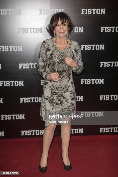 Actress Daniele Evenou attends the 'Fiston' Paris Premiere at Le Grand Rex on February 10 2014 in Paris France