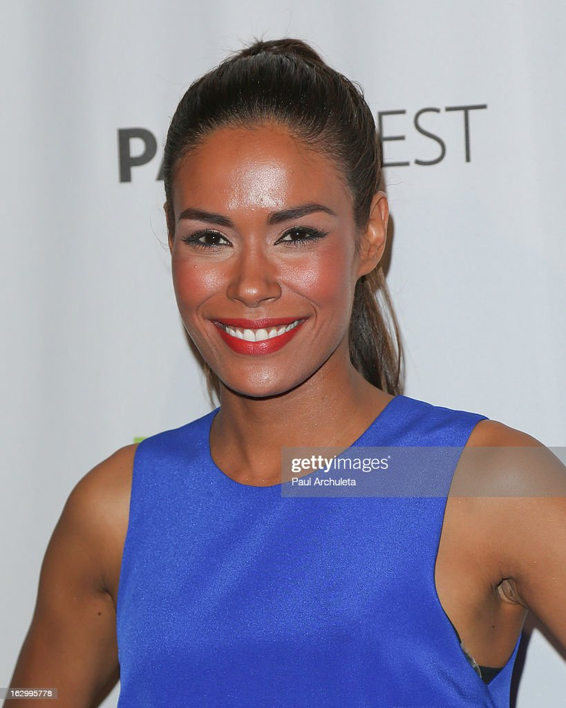 Actress Daniella Alonso attends the 30th annual PaleyFest featuring the cast of 'Revolution' at the Saban Theatre on March 2, 2013 in Beverly Hills, California.
