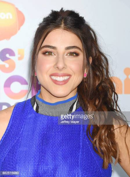 Actress Daniella Monet arrives at the Nickelodeon's 2017 Kids' Choice Awards at USC Galen Center on March 11 2017 in Los Angeles California