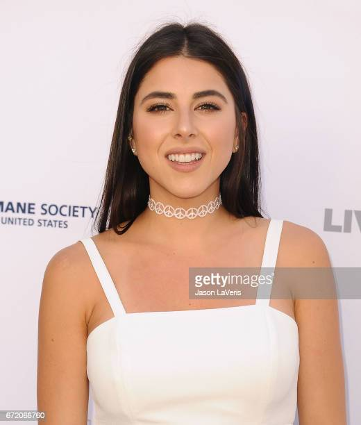 Actress Daniella Monet attends Humane Society of The United States' annual To The Rescue Los Angeles benefit at Paramount Studios on April 22 2017 in...
