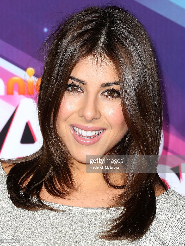 Actress Daniella Monet attends the TeenNick HALO Awards at The Hollywood Palladium on November 17, 2012 in Los Angeles, California.