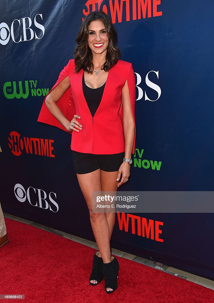 Actress Daniella Ruah attends CBS' 2015 Summer TCA party at the Pacific Design Center on August 10, 2015 in West Hollywood, California.