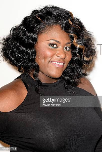 Actress Danielle Brooks arrives at The Paley Center For Media's PaleyFest 2014 Honoring 'Orange Is The New Black' at Dolby Theatre on March 14 2014...