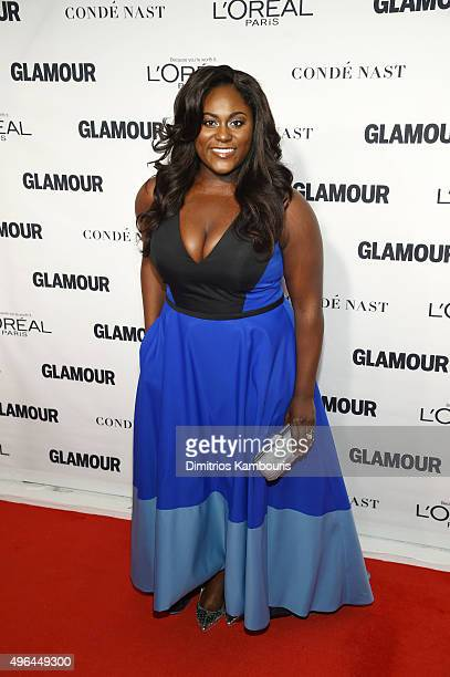 Actress Danielle Brooks attends 2015 Glamour Women Of The Year Awards at Carnegie Hall on November 9 2015 in New York City