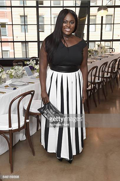 Actress Danielle Brooks attends a luncheon hosted by Glamour and Facebook to discuss the 2016 election at Samsung 837 in NYC on July 11 2016 in New...