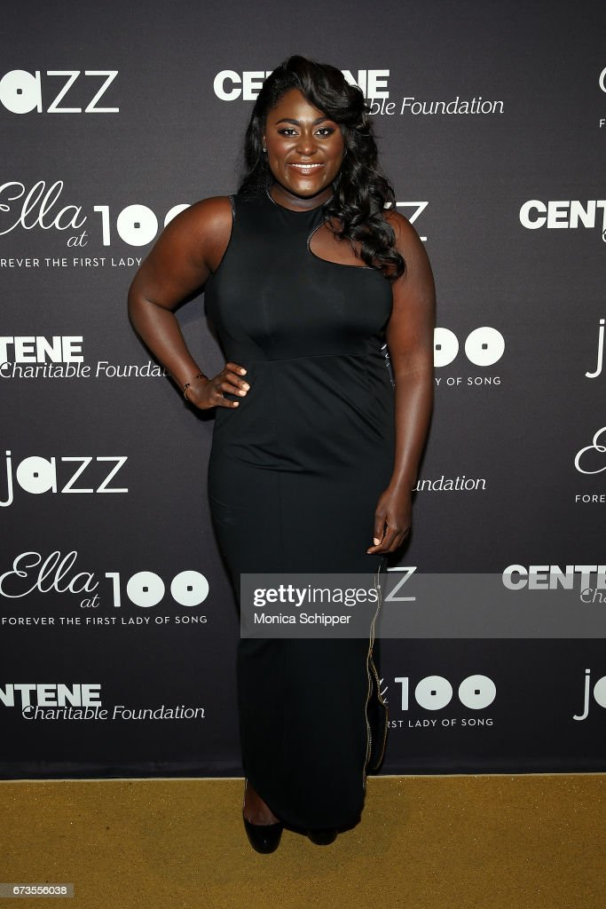 Actress Danielle Brooks attends the 2017 Jazz At Lincoln Center Gala: Ella At 100: Forever The First Lady of Song, at Frederick P. Rose Hall, Jazz at Lincoln Center on April 26, 2017 in New York City.