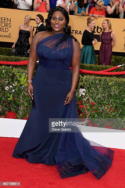 Actress Danielle Brooks attends the 21st Annual Screen Actors Guild Awards at The Shrine Auditorium on January 25 2015 in Los Angeles California