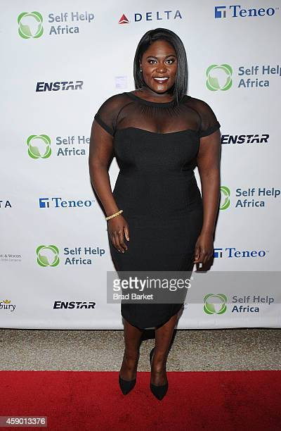 Actress Danielle Brooks attends the 5h Annual 'Self Help Africa' ChangeMaker's Ball at Pier Sixty at Chelsea Piers on November 14 2014 in New York...