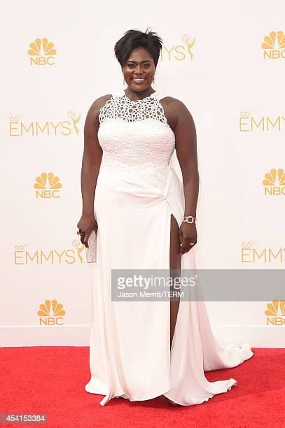 Actress Danielle Brooks attends the 66th Annual Primetime Emmy Awards held at Nokia Theatre LA Live on August 25 2014 in Los Angeles California