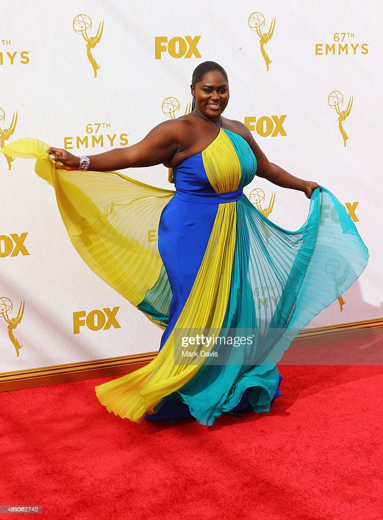Actress Danielle Brooks attends the 67th Annual Primetime Emmy Awards at Microsoft Theater on September 20 2015 in Los Angeles California