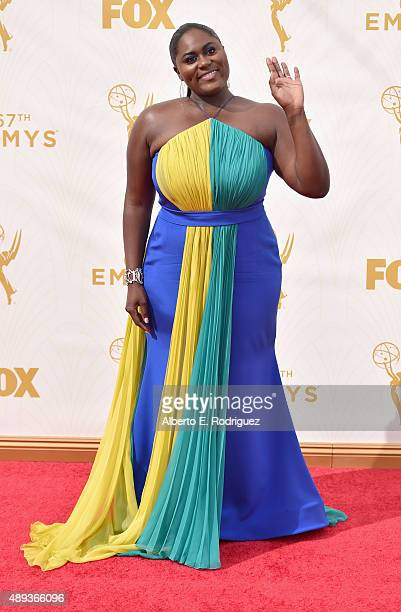 Actress Danielle Brooks attends the 67th Emmy Awards at Microsoft Theater on September 20 2015 in Los Angeles California 25720_001