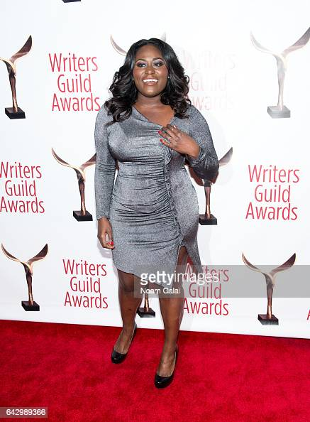 Actress Danielle Brooks attends the 69th Annual Writers Guild Awards New York ceremony at Edison Ballroom on February 19 2017 in New York City