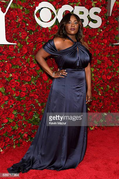 Actress Danielle Brooks attends the 70th Annual Tony Awards at The Beacon Theatre on June 12 2016 in New York City