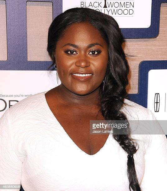 Actress Danielle Brooks attends the 8th annual ESSENCE Black Women In Hollywood luncheon at the Beverly Wilshire Four Seasons Hotel on February 19...