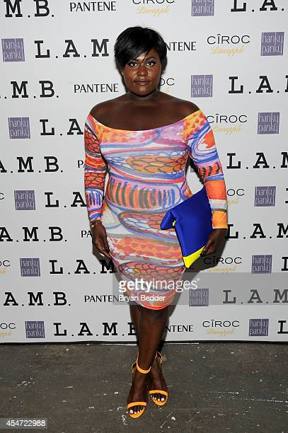 Actress Danielle Brooks attends the LAMB Spring Summer 2015 NYFW Presentation on September 5 2014 in New York City