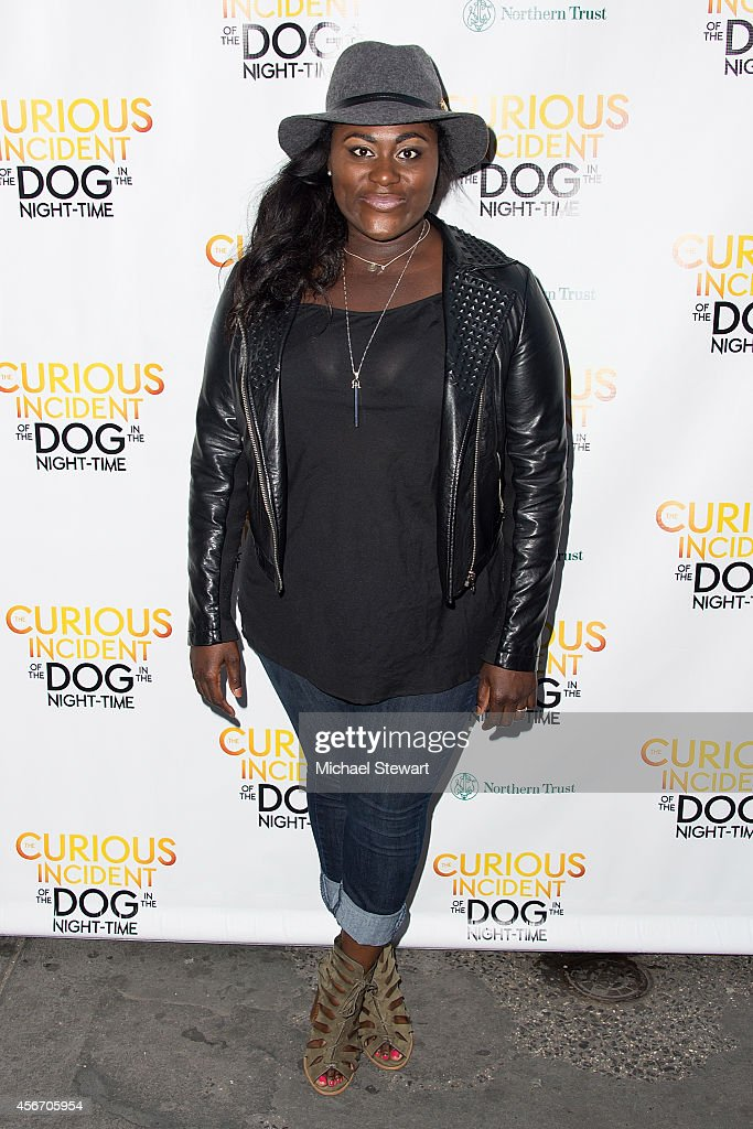 Actress Danielle Brooks attends the 'The Curious Incident Of The Dog In The Night-Time' Broadway Opening Night at The Ethel Barrymore Theatre on October 5, 2014 in New York City.