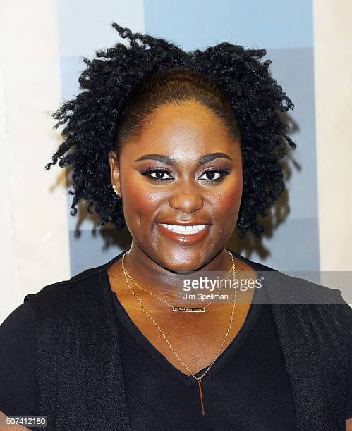 Actress Danielle Brooks attends the Theatre Forward's 13th Annual Broadway Roundtable at UBS Headquarters on January 29 2016 in New York City
