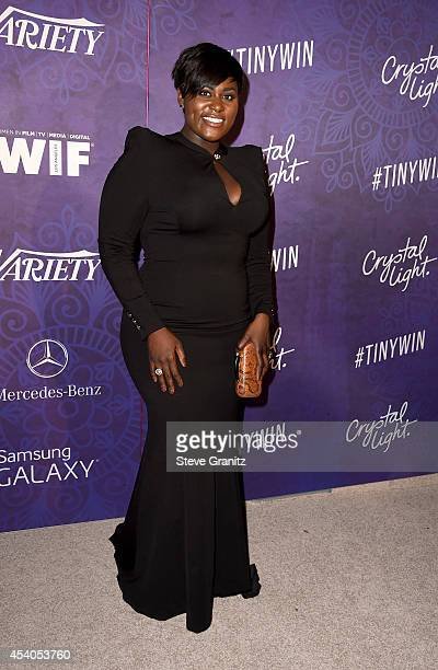 Actress Danielle Brooks attends Variety and Women in Film Annual PreEmmy Celebration at Gracias Madre on August 23 2014 in West Hollywood California