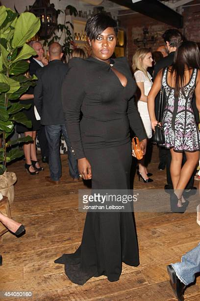 Actress Danielle Brooks attends Variety and Women in Film Emmy Nominee Celebration powered by Samsung Galaxy on August 23 2014 in West Hollywood...