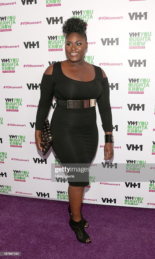 Actress <a gi-track='captionPersonalityLinkClicked' href=/galleries/search?phrase=Danielle+Brooks&family=editorial&specificpeople=8868624 ng-click='$event.stopPropagation()'>Danielle Brooks</a> attends VH1 'You Oughta Know In Concert' 2013 on November 11, 2013 at Roseland Ballroom in New York City.