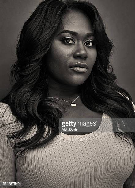 Actress Danielle Brooks is photographed for SAG Foundation on April 15 in New York City