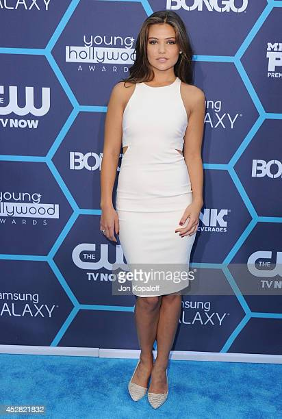 Actress Danielle Campbell arrives at the 16th Annual Young Hollywood Awards at The Wiltern on July 27 2014 in Los Angeles California