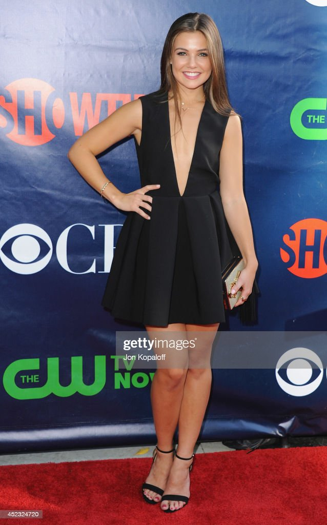 Actress <a gi-track='captionPersonalityLinkClicked' href=/galleries/search?phrase=Danielle+Campbell&family=editorial&specificpeople=5864264 ng-click='$event.stopPropagation()'>Danielle Campbell</a> arrives at the CBS, The CW, Showtime & CBS Television Distribution 2014 Television Critics Association Summer Press Tour at Pacific Design Center on July 17, 2014 in West Hollywood, California.