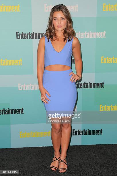 Actress Danielle Campbell arrives at the Entertainment Weekly celebration at Float at Hard Rock Hotel San Diego on July 11 2015 in San Diego...