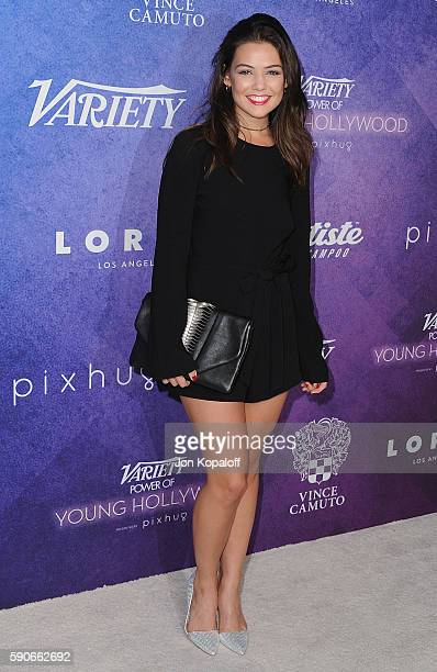 Actress Danielle Campbell arrives at Variety's Power Of Young Hollywood at NeueHouse Hollywood on August 16 2016 in Los Angeles California
