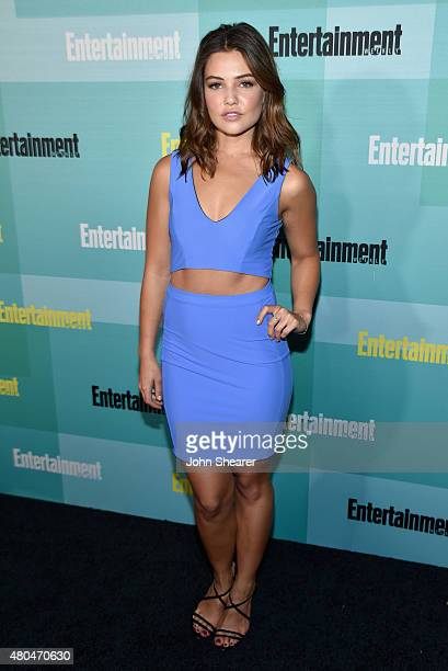 Actress Danielle Campbell attends Entertainment Weekly's ComicCon 2015 Party sponsored by HBO Honda Bud Light Lime and Bud Light Ritas at FLOAT at...