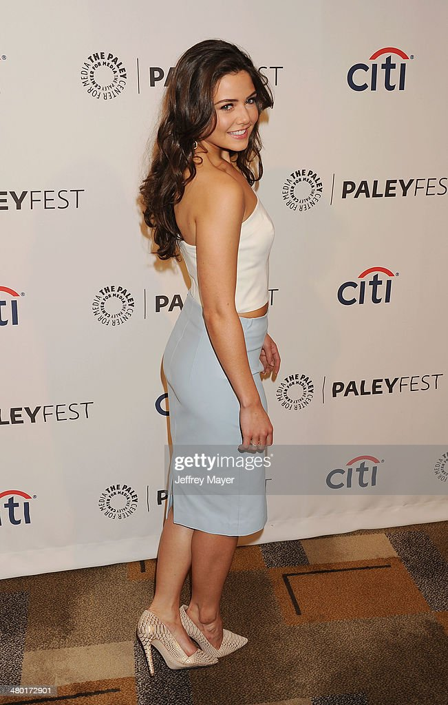 Actress Danielle Campbell attends the 2014 PaleyFest - 'The Vampire Diaries' & 'The Originals' held at Dolby Theatre on March 21, 2014 in Hollywood, California.